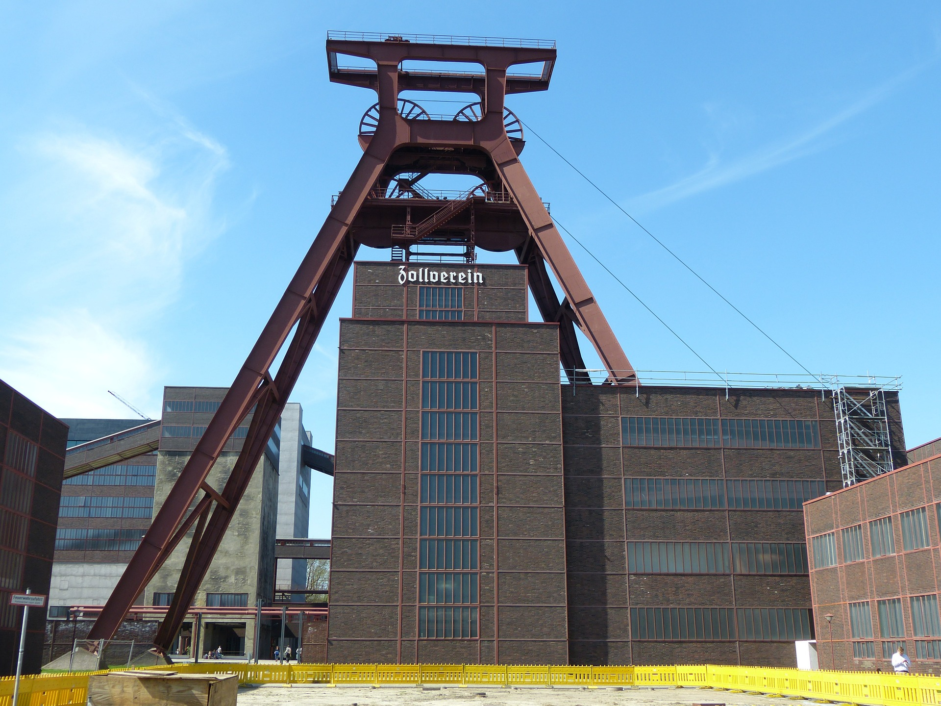 Zeche Zollverein Bild: Pixabay